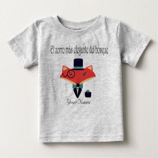 Eleganter Baby-Jersey-T - Shirt Fox spanische