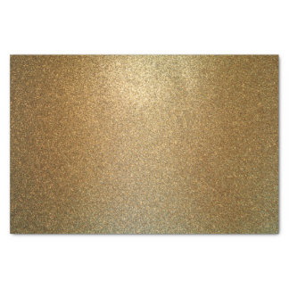 Eleganter bezaubernder GoldGlitter Seidenpapier