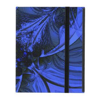 Eleganter blauer Digital-Entwurf iPad Schutzhüllen
