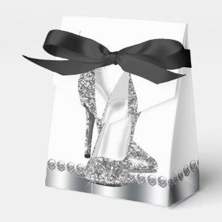 Eleganter Glitter-hohe Fersen-Schuh Geschenkschachteln