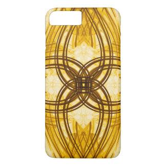 Eleganter Golddamast-Muster iPhone 7 Fall iPhone 8 Plus/7 Plus Hülle