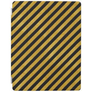 Eleganter Goldstreifen - Gewohnheit Ihre Farbe iPad Smart Cover