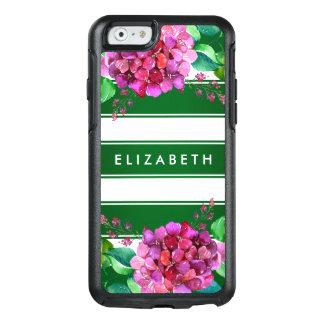 Eleganter grüner Streifen iPhone 6/6s Mit OtterBox iPhone 6/6s Hülle