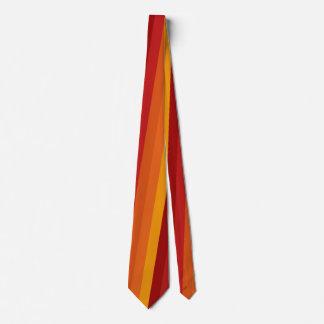 Eleganter Herbst-Streifen-bunte Krawatte