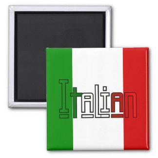 Eleganter Italiener Kühlschrankmagnet