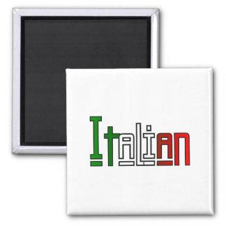 Eleganter Italiener Quadratischer Magnet
