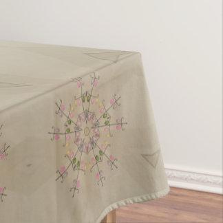 Eleganter kaleidoskopischer tischdecke