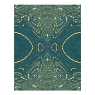 Eleganter Ligth aquamariner Mode-Farbentwurf Personalisierte Flyer