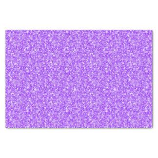 Eleganter lila Glitter 2 Seidenpapier