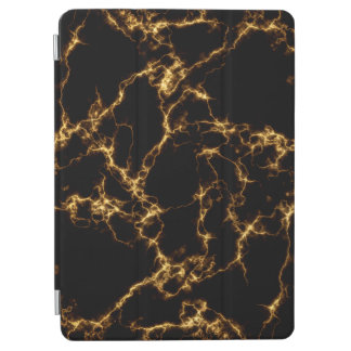 Eleganter Marmor style3 - schwarzes Gold iPad Air Cover