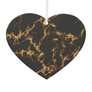 Eleganter Marmor style3 - schwarzes Gold Lufterfrischer
