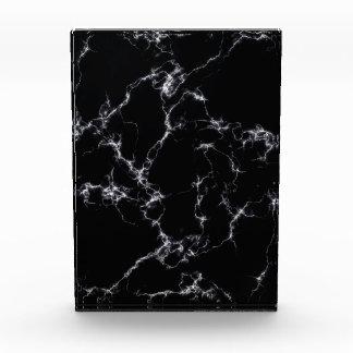 Eleganter Marmor style4 - Schwarzweiss Acryl Auszeichnung