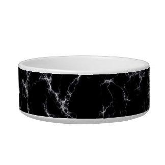 Eleganter Marmor style4 - Schwarzweiss Napf