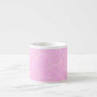 Eleganter Marmor style5 - Kirschblüten-Rosa Espressotasse