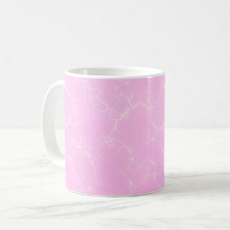 Eleganter Marmor style5 - Kirschblüten-Rosa Kaffeetasse