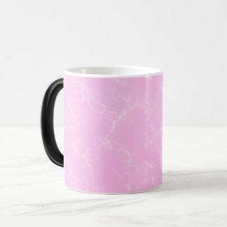 Eleganter Marmor style5 - Kirschblüten-Rosa Verwandlungstasse