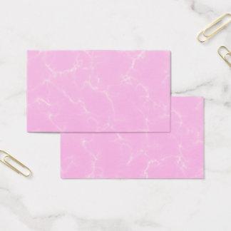 Eleganter Marmor style5 - Kirschblüten-Rosa Visitenkarte