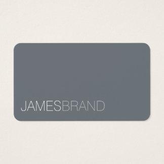 Eleganter Minimalist Visitenkarten