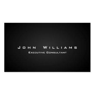 Eleganter minimalistischer unabhängiger Profession Visitenkarten
