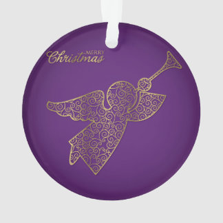 Eleganter mit Filigran geschmückter Engel Ornament