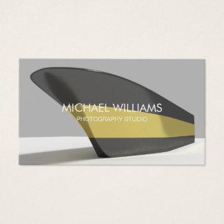 Eleganter Professioneller schwarzes vergoldet Visitenkarte