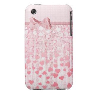 Eleganter rosa Fall iPhone der Tag der Mutter iPhone 3 Hüllen