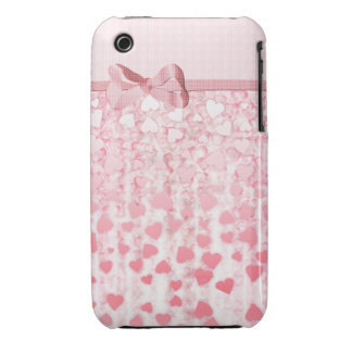 Eleganter rosa Fall iPhone der Tag der Mutter iPhone 3 Covers