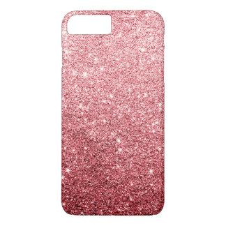 Eleganter roter Glitter-Luxus iPhone 8 Plus/7 Plus Hülle