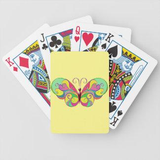 eleganter Schmetterling Bicycle Spielkarten