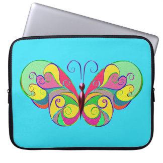 eleganter Schmetterling Laptop Sleeve