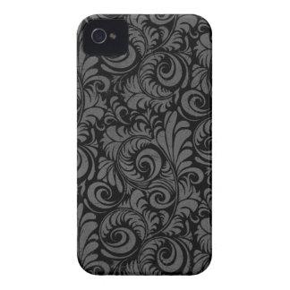 Eleganter schwarzer iPhone 4 Kasten iPhone 4 Case-Mate Hüllen