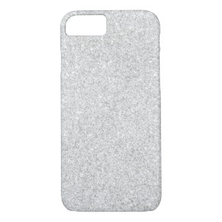 Eleganter silberner Glitter iPhone 7 Fall iPhone 8/7 Hülle