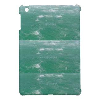 Eleganter TIEFSEE GRÜNE Wellen-Druck durch NAVIN iPad Mini Hülle