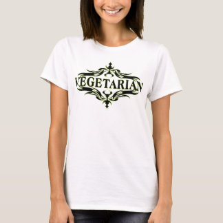 Eleganter Vegetarier T-Shirt