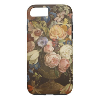 Eleganter Vintager BlumenRosen-Malerei-Kunst-Fall iPhone 8/7 Hülle