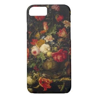 Eleganter Vintager Blumenvase iPhone 8/7 Hülle