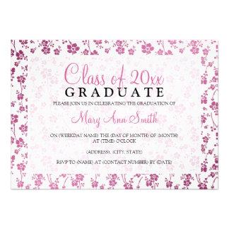 Elegantes Abschluss-Party-Blumenmuster-Rosa