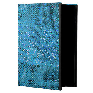 Elegantes blaues Glitter-Monogramm