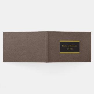 Elegantes Erinnerungsgast-Buch Gästebuch