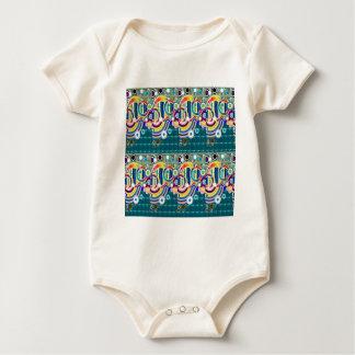 Elegantes exotisches künstlerisches baby strampler