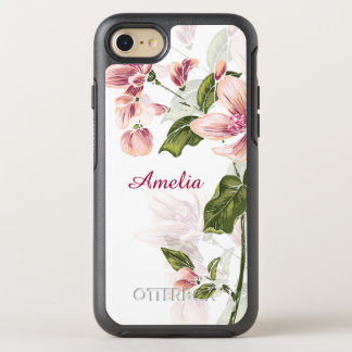 Elegantes Girly Blumen OtterBox Symmetry iPhone 8/7 Hülle