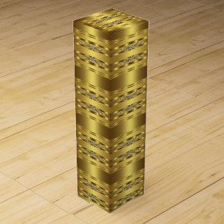 Elegantes Gold Weinbox