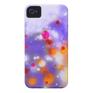 Elegantes GoldLuxe rote AquarellBrushstrokes Case-Mate iPhone 4 Hüllen