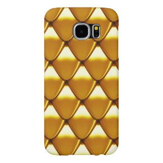 Elegantes Goldskala-Muster