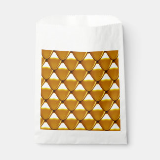Elegantes Goldskala-Muster Geschenktütchen