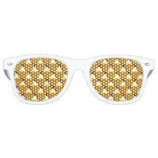 Elegantes Goldskala-Muster Sonnenbrille