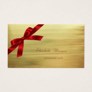 Elegantes hoch entwickeltes modernes Imitat-Gold, Visitenkarte