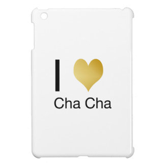 Elegantes i-Herz Cha Cha iPad Mini Hülle