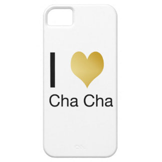 Elegantes i-Herz Cha Cha iPhone 5 Schutzhülle