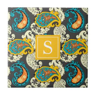 Elegantes mit Filigran geschmücktes Keramikfliese